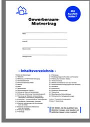 Direkt-Download Ihres Haus & Grund Mietvertragsfür Gewerberäume