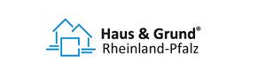 Impressum von mietvertraege-rlp.de: Das Logo von Haus und Grund Rheinland-Pfalz