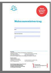 Wohnraum Mietvertrag Von Haus Grund Zum Download
