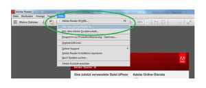 Aktuelle Version Adobe Reader downloaden